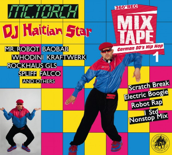 "CD - Haitian Star ""German 80s Hip Hop 1"""