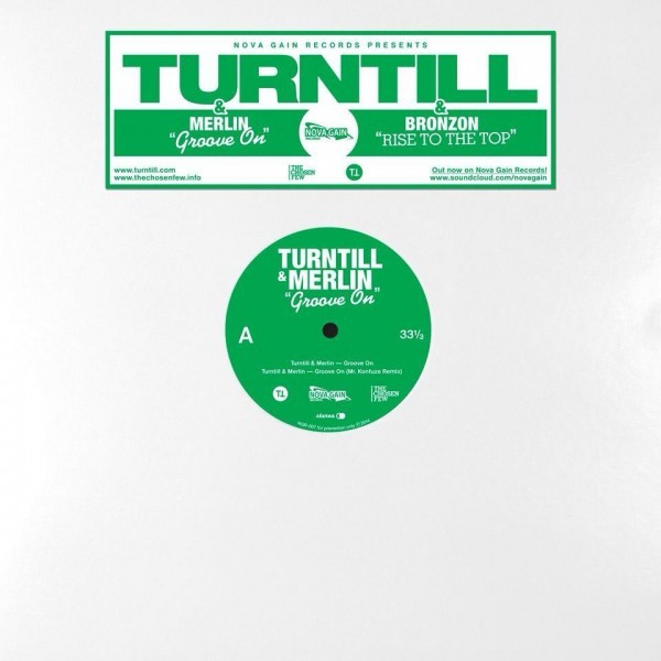 Vinyl Turntill EP - Groove On | Rise to the Top