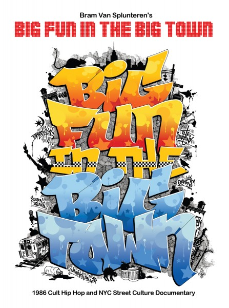 DVD Big Fun in the Big Town - NY Hip Hop Documentary 1986