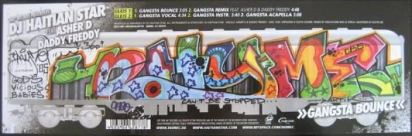 Vinyl - Haitian Star - Gangsta Bounce