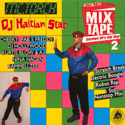 "CD - Haitian Star ""German 80s Hip Hop 2"""