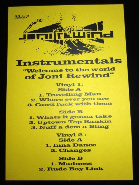 Vinyl Joni Rewind - Welcome to the World of Instrumental
