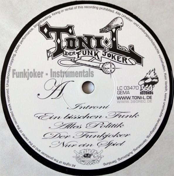 Vinyl Toni-L - Funkjoker Instrumentals