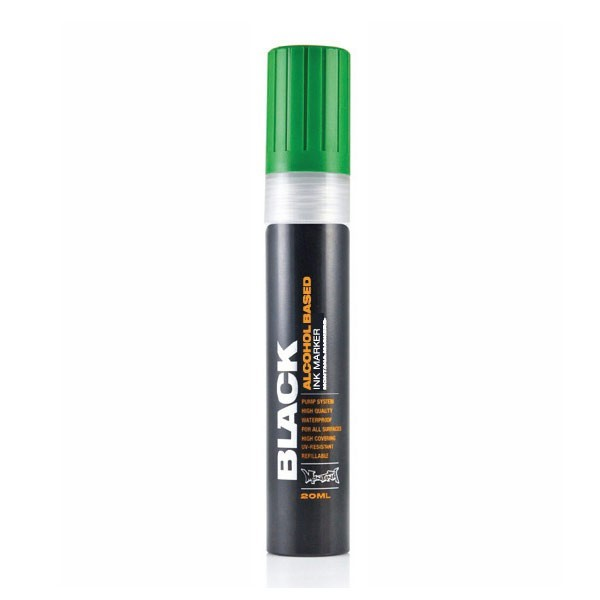 Montana Black Ink Marker 15mm Green