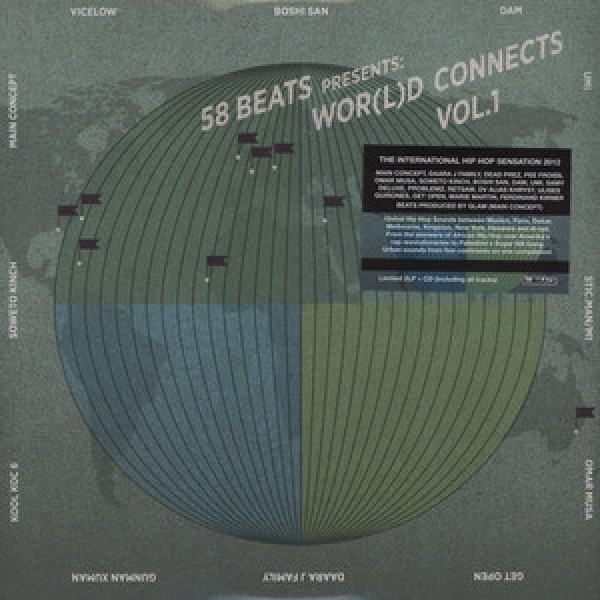 CD 58 Beats presents: Wor(l)d Connects Vol.1