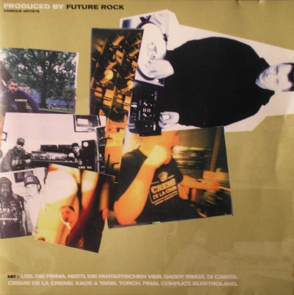 CD - Various – Produced By Future Rock