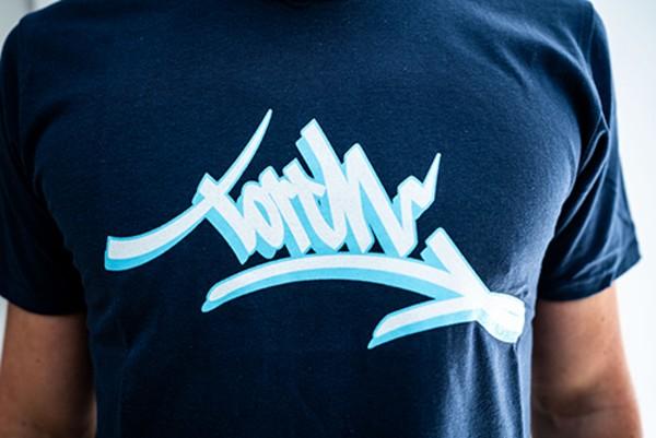 T-Shirt - Torch Blau