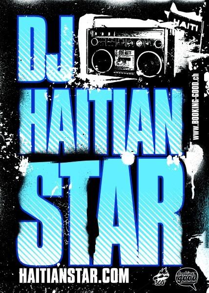 Sticker Haitian Star 1