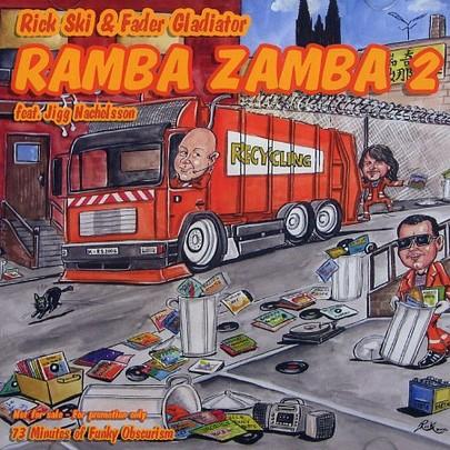 """CD - Rick Ski & Fader Gladiator """"Ramba Zamba 2"""" Feat. Jigg Nachelsson"""