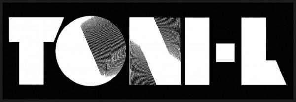 Sticker Toni-L - Logo schwarz