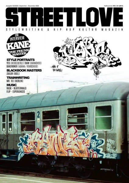 Magazine - Streetlove #08 Kane TPM & Rask (Brandnew)