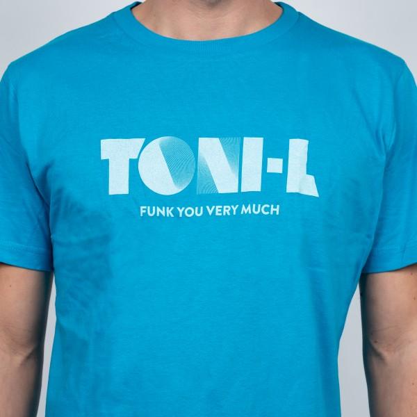 T-Shirt Toni-L (Funk you very much) Cyan