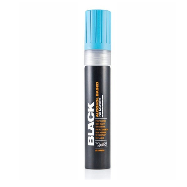 Montana Black Ink Marker 15mm Cyan