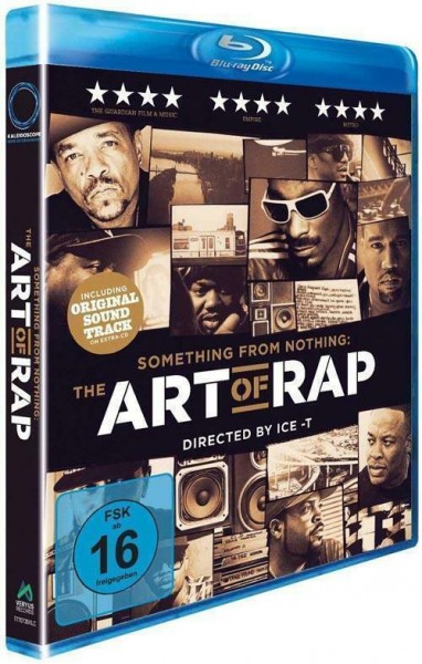 Blue Ray Something from Nothing: The Art Of Rap - Directed by Ice-T