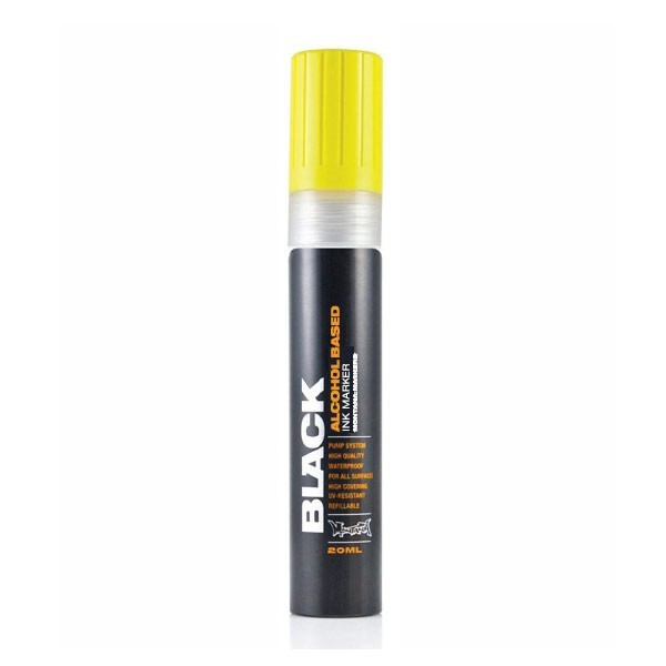 Montana Black Ink Marker 15mm Yellow