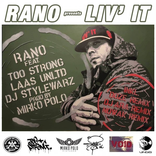 Vinyl Rano Feat. Too Strong, Laas Unlimited, DJ Stylewarz - Liv It