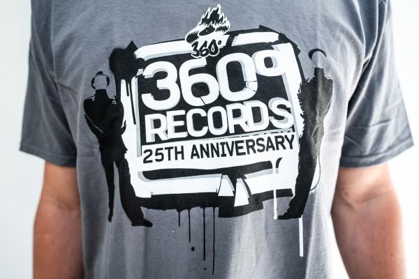 "T-Shirt - 360 ""25 Jahre"" Dunkel"