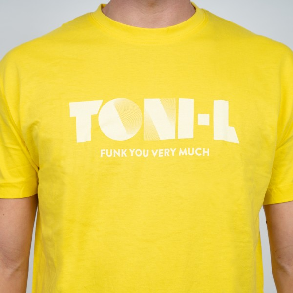 T-Shirt Toni-L (Funk you very much) Yellow